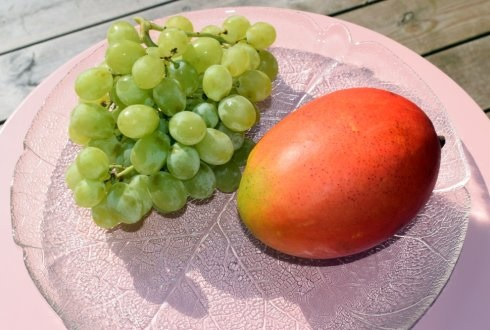Mango Grapes Cooler