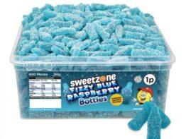 Blue Raspberry Fizzy Bubblegum